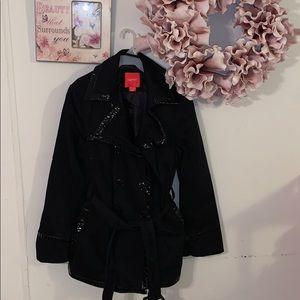 Esprit trench style pea coat